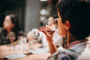 Wine tasting at cedar creek estate